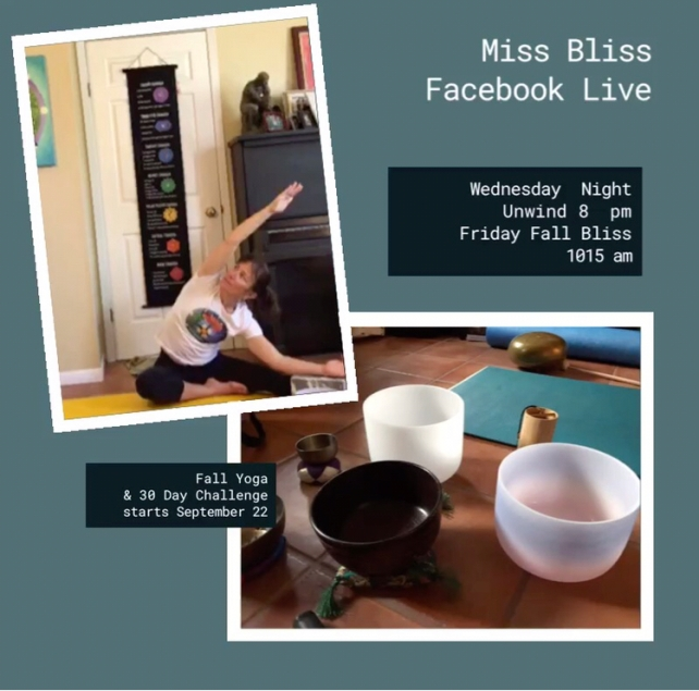 Miss Bliss Facebook Live